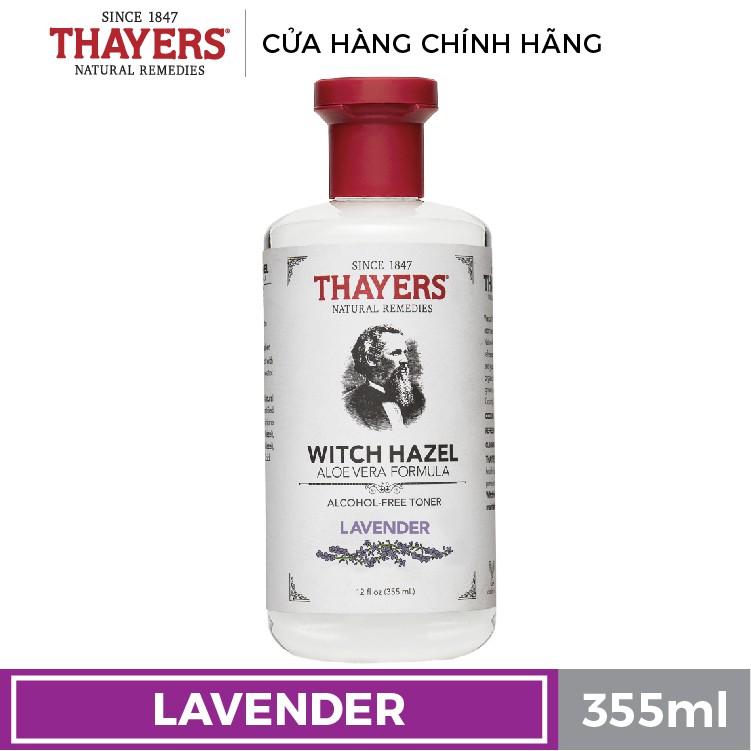 Nước hoa hồng không cồn THAYERS - Hương hoa oải hương 355ml