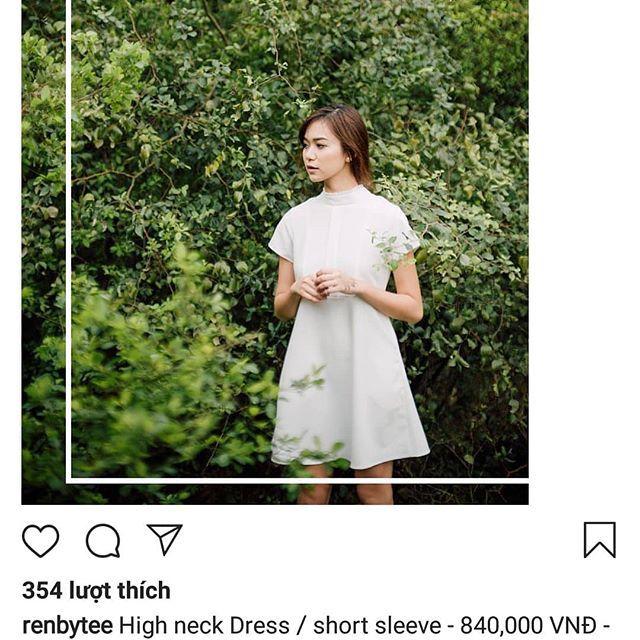 Đầm trắng của Renbytee