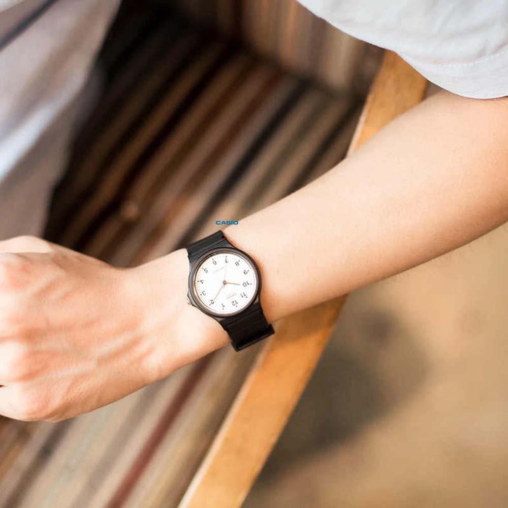 Đồng hồ nam nữ Unisex Casio MQ-24-7BLDF dây nhựa chính hãng Anh Khuê