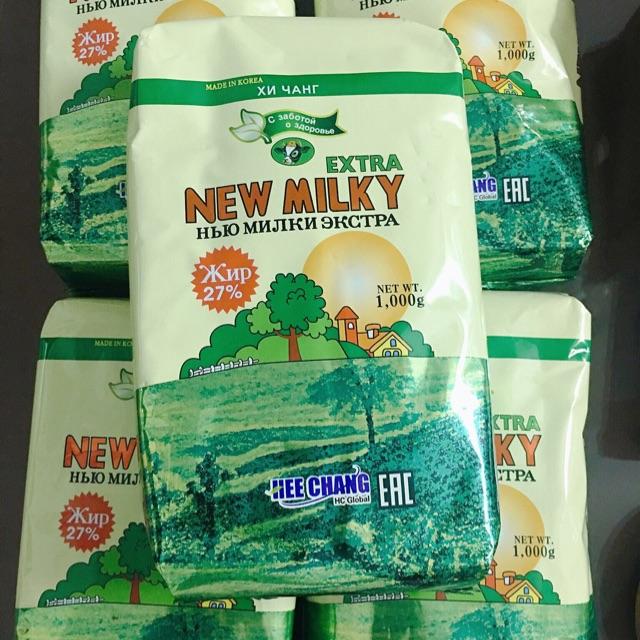 Sữa tăng cân New milky Extra xách tay Nga