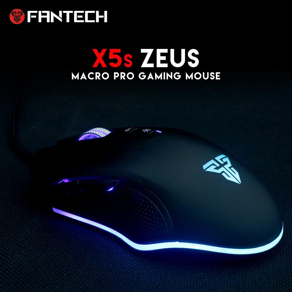 Chuột Gaming Fantech ZEUS X5S ( LED Chroma + phần mềm riêng ) - Hãng phân phối chính thức