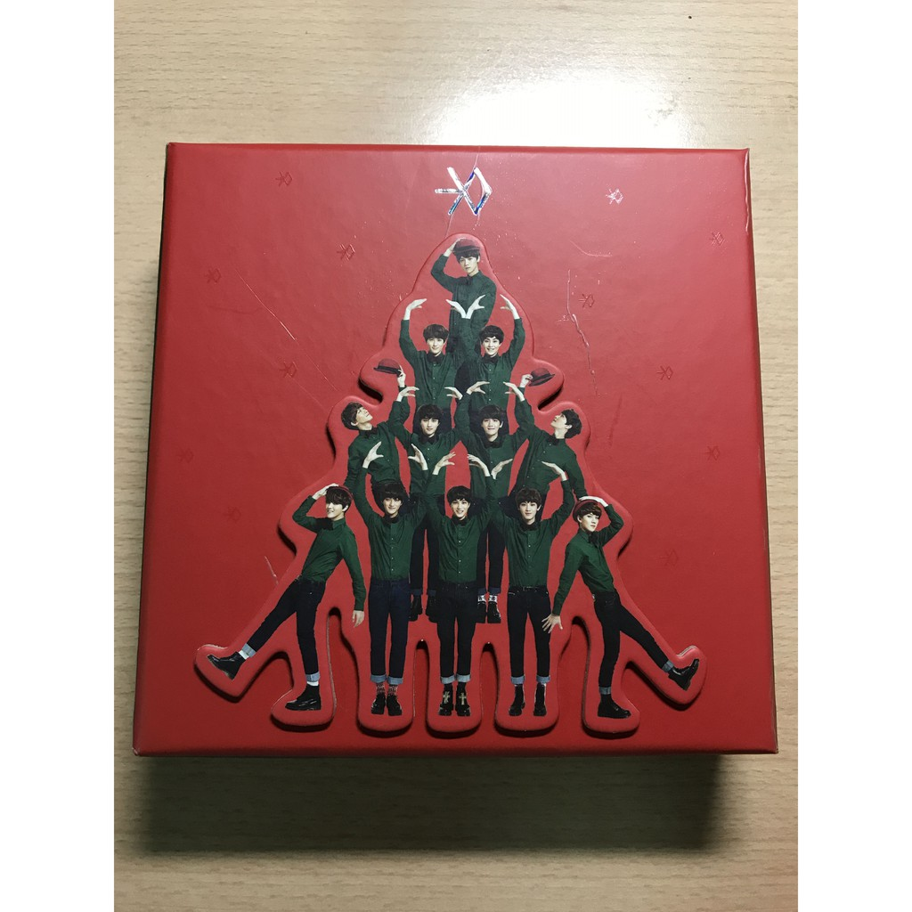 EXO - Miracles in December Album [Chinese ver.]