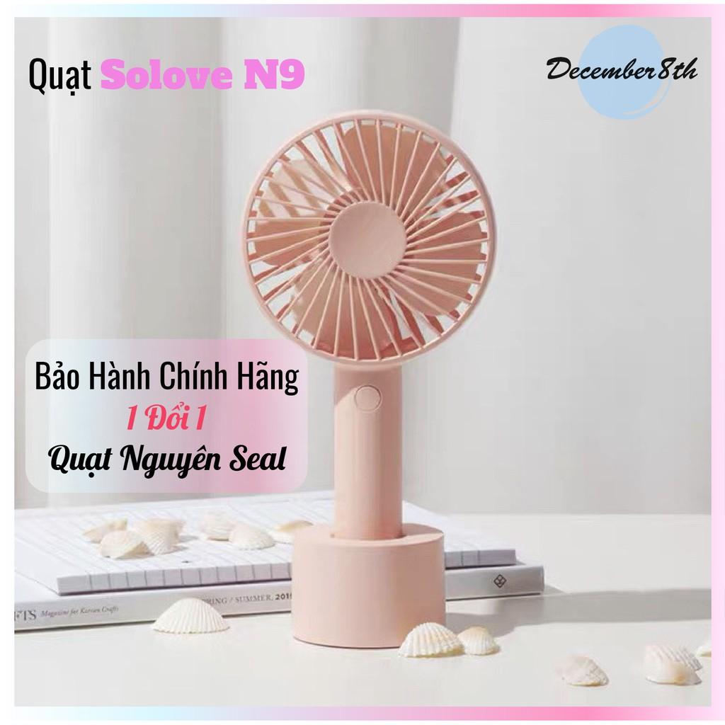 Quạt Mini Cầm Tay SOLOVE Chính Hãng - Có Sẵn