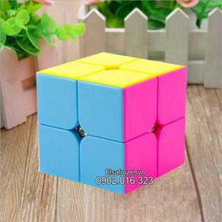 Rubik 2×2 Hàng Đẹp, Xoay Trơn, Không Rít, Độ Bền Cao – Rubik QiYi Stickerless – Rubik Đồ Chơi Cho Mọi Lứa Tuổi.