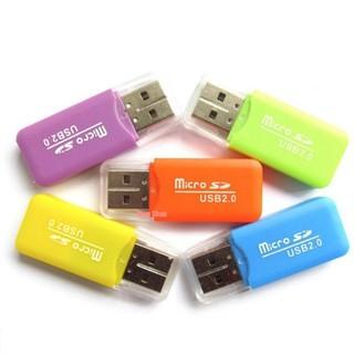 Bộ 5 đầu đọc thẻ nhớ mini MicroSD (Nhiều màu)