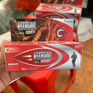 Sủi vitrum ( bồi bổ sức khoẻ- hàm lượng C lên đến 1000 mg trong 1 viên + đông trùng hạ thảo )