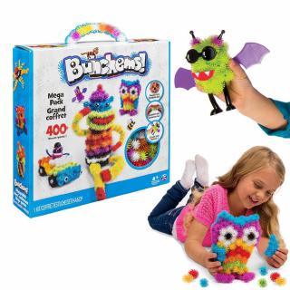 Kids Bunchems Mega Pack Over 400 Pieces Children Toy Birthday Gift With Box