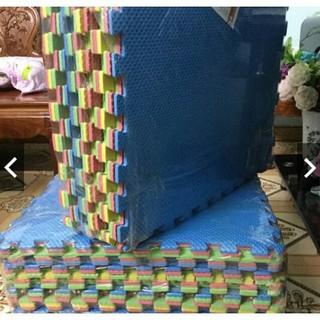 Thảm Xốp Ghép Lót Nền, Trải Sàn Nhiều Màu (Bộ 6 Miếng 60x60cm)