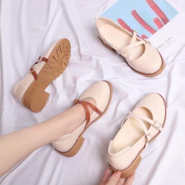 Giày búp bê lolita ulzzang ✨(kèm video thật)