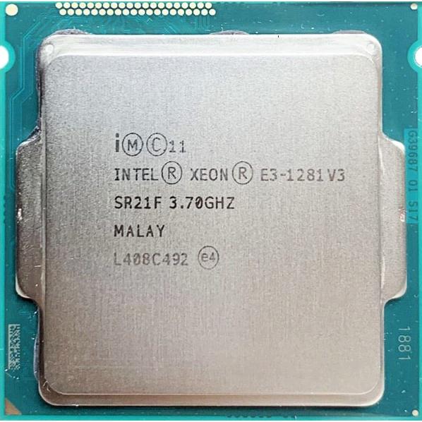 CPU i3 4150 / E3 1281V3 / i3 8100 / i5 8400