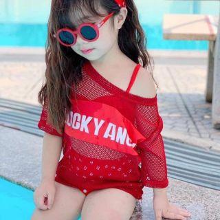 Sét bikini 4 chi tiết cho bé siêu hot
