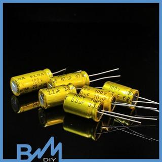 Tụ không phân cực 100V 10×16 phân tần và bảo vệ loa treble
