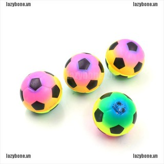 {lazy} 1PC Colorful Mini Football Squeeze Foam Ball Stress Relief Vent Ball Kids Toy{bone}