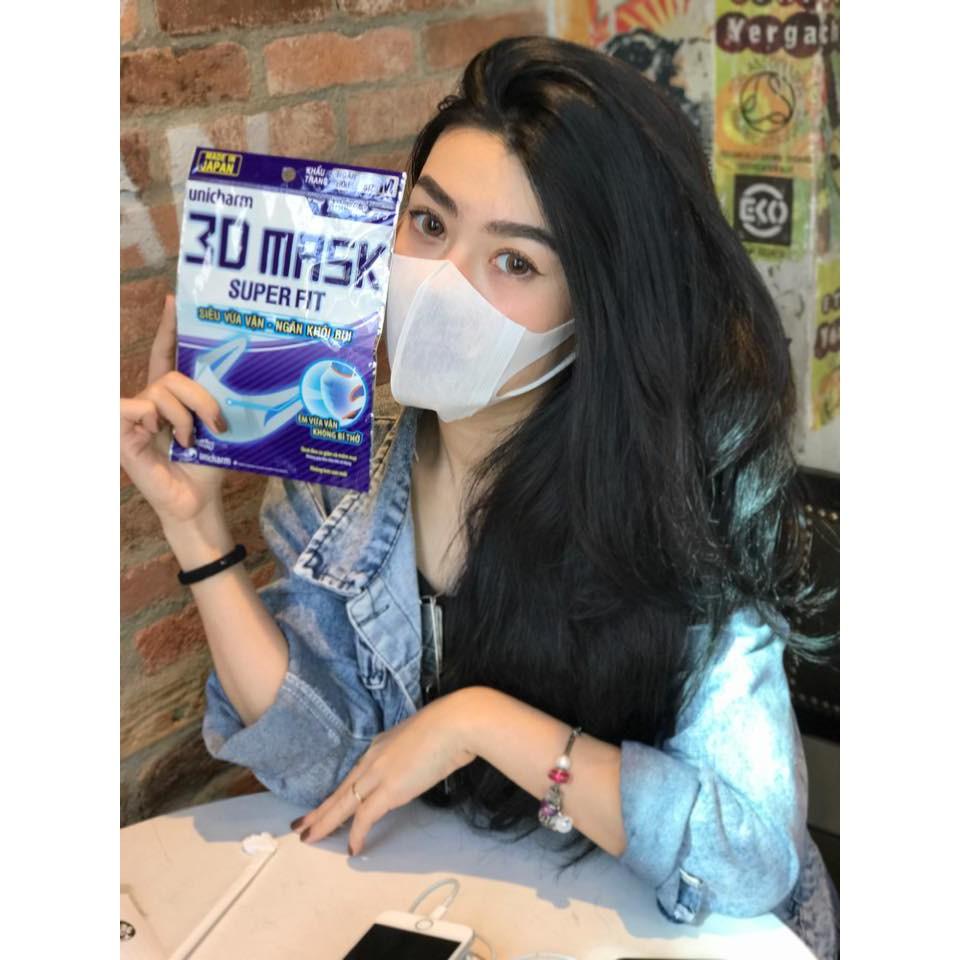 Gói 5 miếng khẩu trang 3D Mask ngăn khói bụi NHẬT BẢN