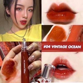 [FREE SHIP] Son Romand Glasting Water Tint 04 Vintage Ocean Đỏ Nâu