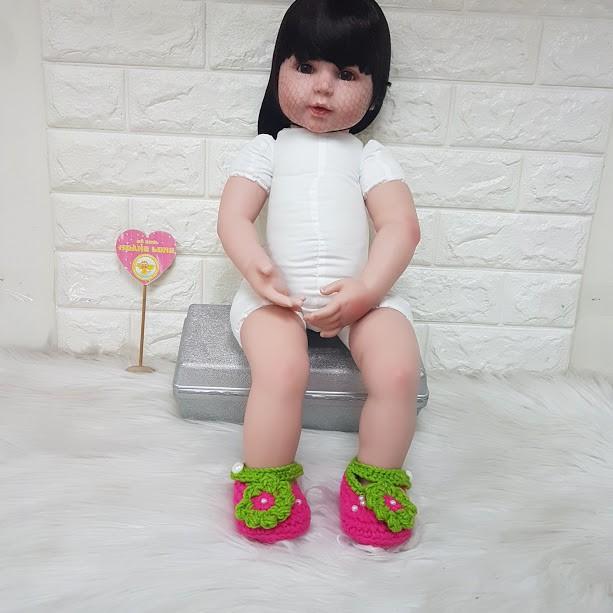 Giày len dành cho búp bê NPK 62cm - 24inch