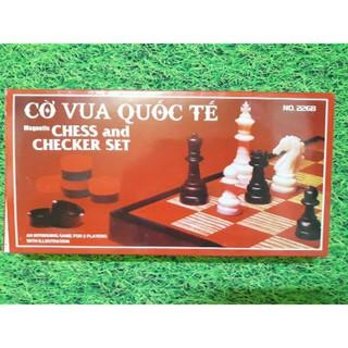 [Sale up] Bộ cờ vua quốc tế (đế nam châm)