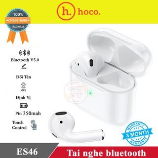 Tai nghe Bluetooth HOCO. ES46 V5.0 pin 350mAh / Hỗ trợ PopUP/ Siri / Đàm thoại / Định Vị / Đổi tên - Tai nghe không dây