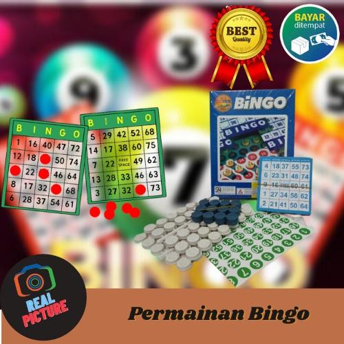 Bộ thẻ chơi Game Bingo độc đáo