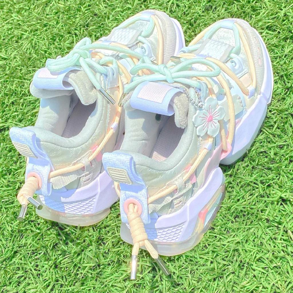 [Mã FASHION1111A hoàn 8% tối đa 100K xu đơn 350K] Giày thể thao đế dày thời trang Hàn Quốc cho nữ