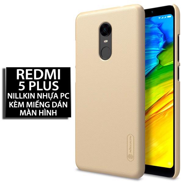 Ốp lưng Xiaomi Redmi Note 5Plus Nhựa PC cứng Nillkin