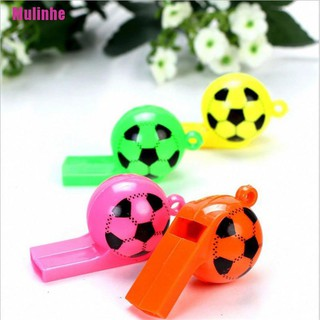[Mulinhe] 8pcs soccer football whistles pack party favors sports whistles party birthday f