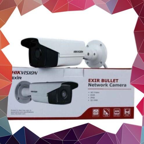 (Hót Hòn Họt) Camera HD-TVI hình trụ hồng ngoại 80m lắp đặt ngoài trời 2MP HIKVISION DS-2CE16D0T-IT5 (Trắng)