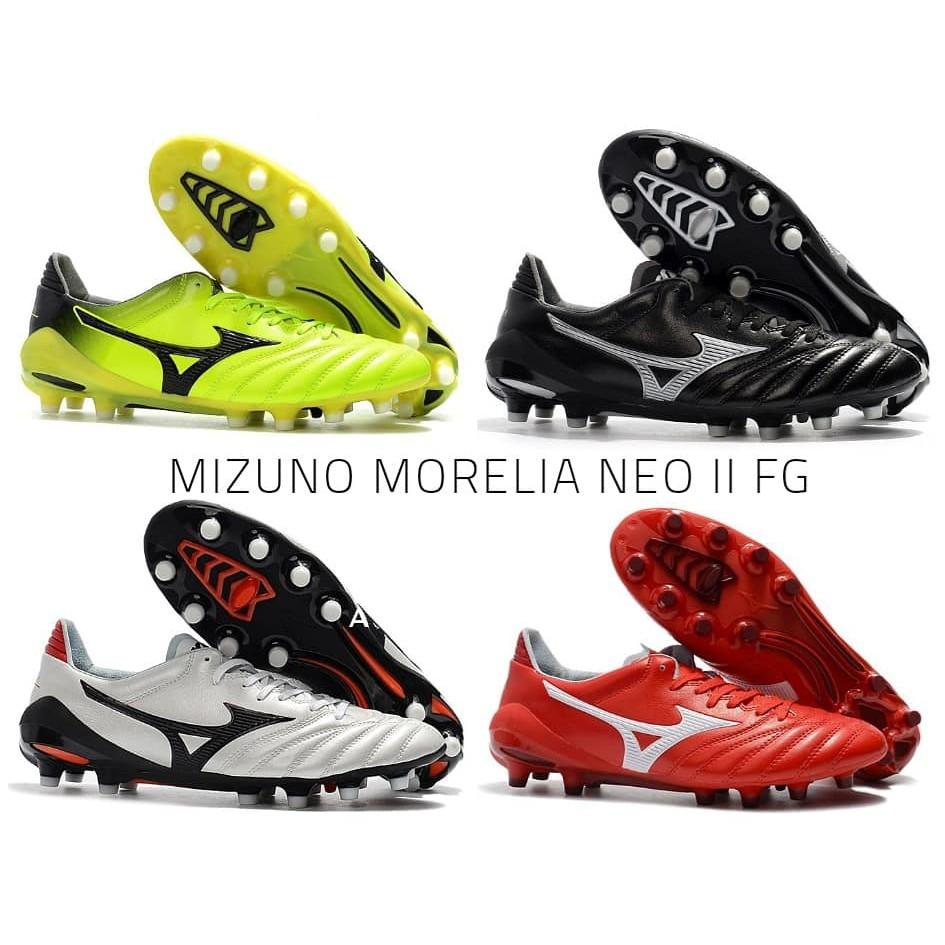 newest b0ebb 02bf0 FOOTBALL SOCCER SHOES MIZUNO MORELIA NEO II FG KASUT BOLA