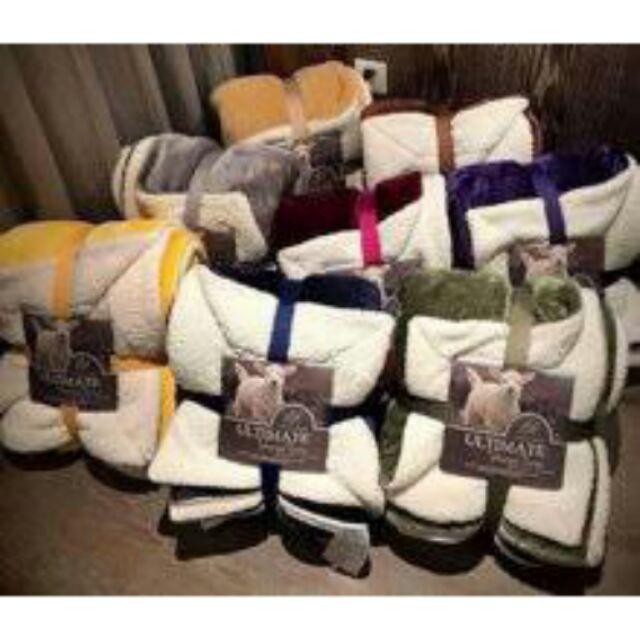 Sỉ chăn lông cừu ultimate xuất Mỹ