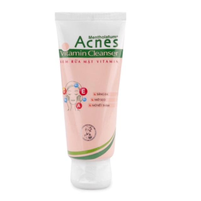Kem rửa mặt Acnes Vitamin Cleanser 50g - 2534547 , 340113513 , 322_340113513 , 50000 , Kem-rua-mat-Acnes-Vitamin-Cleanser-50g-322_340113513 , shopee.vn , Kem rửa mặt Acnes Vitamin Cleanser 50g