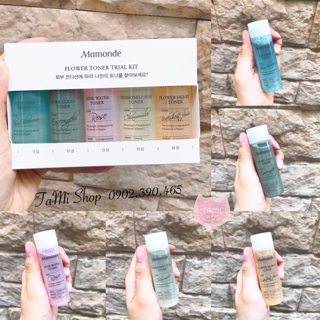 Nước hoa hồng Mamonde FLOWER TONER TRAIL KIT - 2442109 , 1171256737 , 322_1171256737 , 25000 , Nuoc-hoa-hong-Mamonde-FLOWER-TONER-TRAIL-KIT-322_1171256737 , shopee.vn , Nước hoa hồng Mamonde FLOWER TONER TRAIL KIT