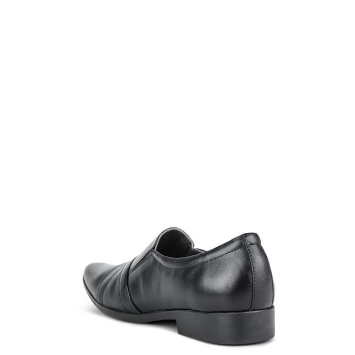 [Sale 3/3]Giày Tây Nam Da Bò SUNPOLO Nâu Đen - SUP34ND -x13