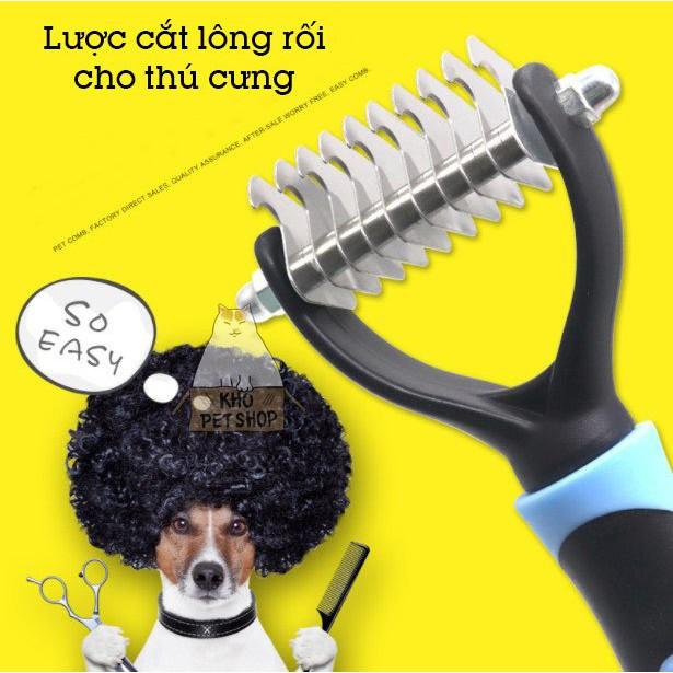 Lược cắt lông rối cho thú cưng