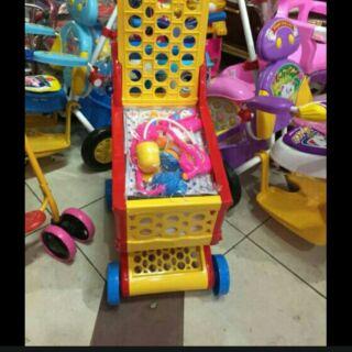Đồ chơi xe đẩy cho bé 2-6tuôi loại lớn TẶNG kèm thêm 1 vỉ đồ chơi nấu ăn hoặc bác sỹ
