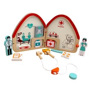 Bộ đồ chơi gỗ nhập vai bác sĩ Winwintoys