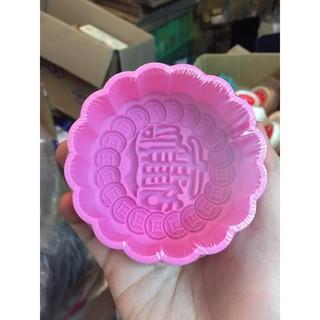 Khuôn bánh trung thu Singapore PM16 - khuôn đồng tiền 150gr