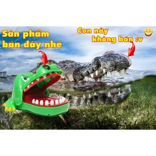 Trò Chơi Khám Răng Cá Sấu Cắn Tay (Size Lớn)