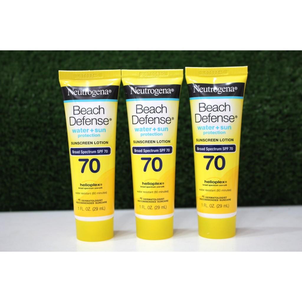 Kem chống nắng chống nước Neutrogena Beach Defense SPF 70 tuýp 29ml giá rẻ - 2468633 , 313324658 , 322_313324658 , 80000 , Kem-chong-nang-chong-nuoc-Neutrogena-Beach-Defense-SPF-70-tuyp-29ml-gia-re-322_313324658 , shopee.vn , Kem chống nắng chống nước Neutrogena Beach Defense SPF 70 tuýp 29ml giá rẻ