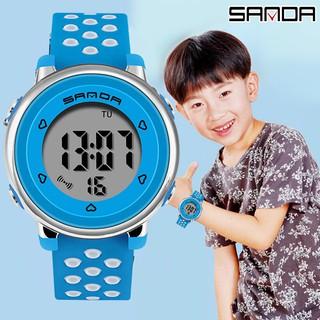 Đồng hồ Trẻ em SANDA JAPAN, Thương hiệu Cao Cấp Của Nhật, Chống Nước Tốt 6