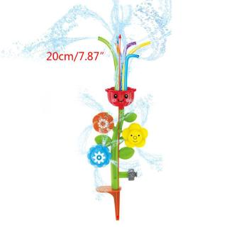 YOUN* Kids Flower Sprinkler Water Spray Toy for Lawn Yard Splash Outdoor Summer Fun