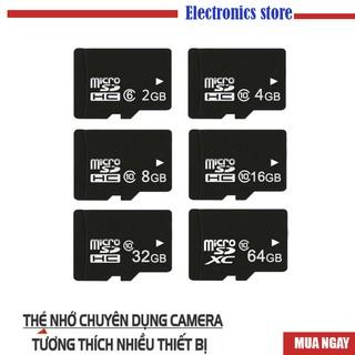 Yêu ThíchThẻ nhớ MicroSD Class 10 Tốc độ cao (Đen) 2GB/4GB/8GB/16GB/32GB/64GB