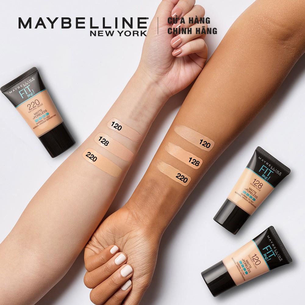 Hình ảnh Kem nền lì mịn tự nhiên Maybelline Fit Me Tube 18 ml-5