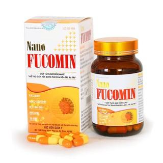 COMBO 4 Hộp NANO FUCOMIN của Học Viện Quân Y- tăng cường khả năng tiêu diệt khối u cho người ung thư, phòng ngừa u bướu