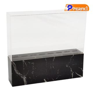 Hot-Eyelash Grafting Tweezers Acrylic Display Stand Holder Organizer White