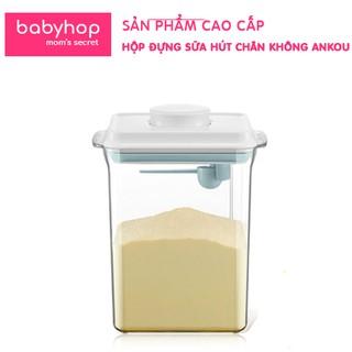 Hộp trữ sữa Ankou Babyhop cho bé loại cao cấp, có hút chân không