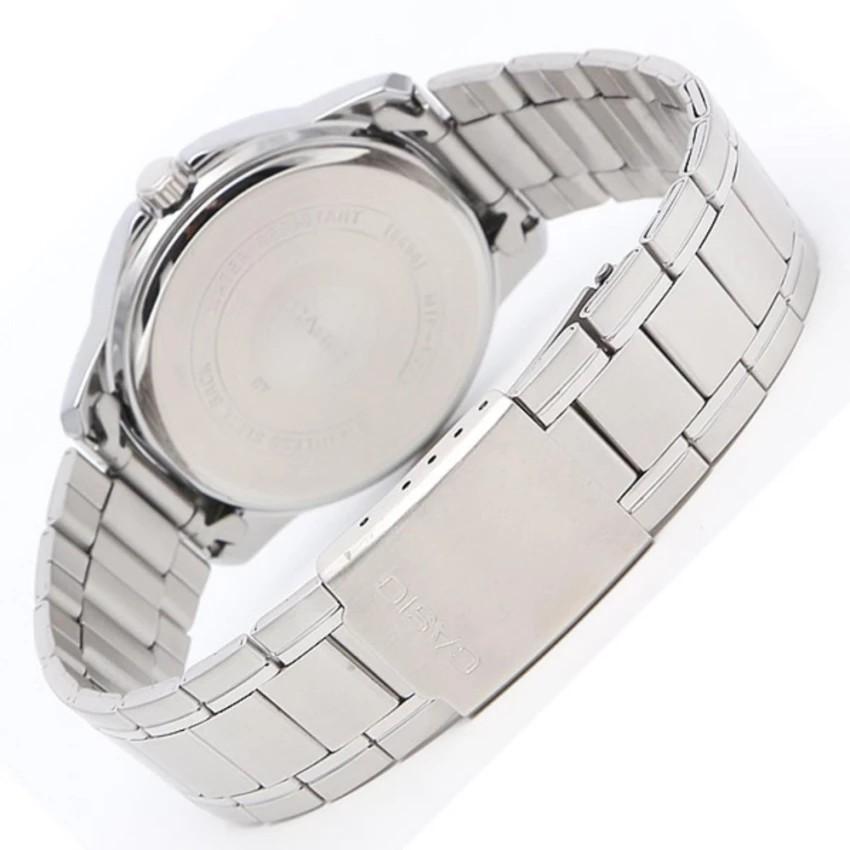 Đồng hồ nam dây kim loại Casio chính hãng Anh Khuê MTP-V004D-1BUDF