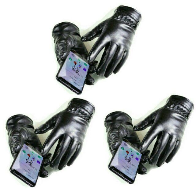 Combo 3 đôi găng tay da UNISEX cảm ứng lót lông cao cấp. - 3291486 , 746721931 , 322_746721931 , 99000 , Combo-3-doi-gang-tay-da-UNISEX-cam-ung-lot-long-cao-cap.-322_746721931 , shopee.vn , Combo 3 đôi găng tay da UNISEX cảm ứng lót lông cao cấp.