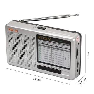 Radio Sony ICF SW-35 đa băng tần thumbnail
