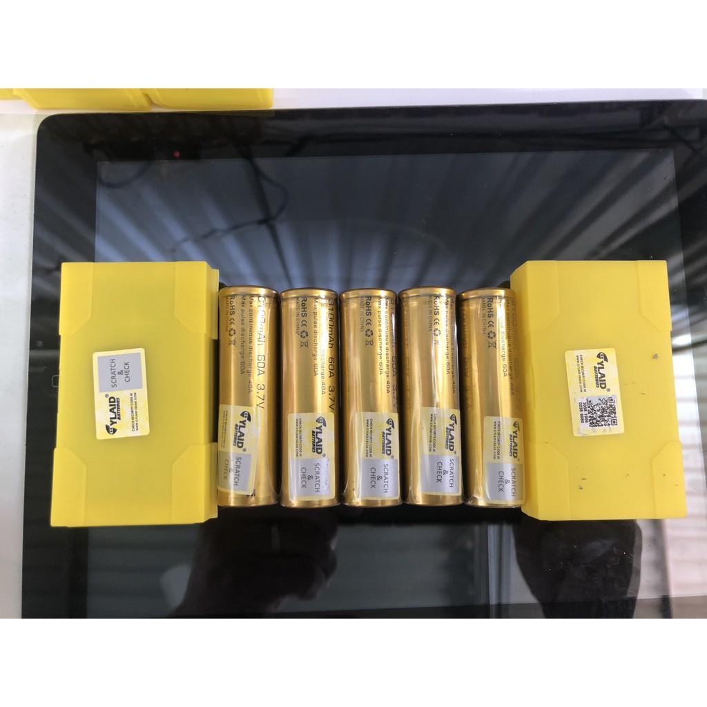 cell pin cylaid 3100mah 60a 3,7v chính hãng mới 100% (giá 1 viên 132 ngàn)