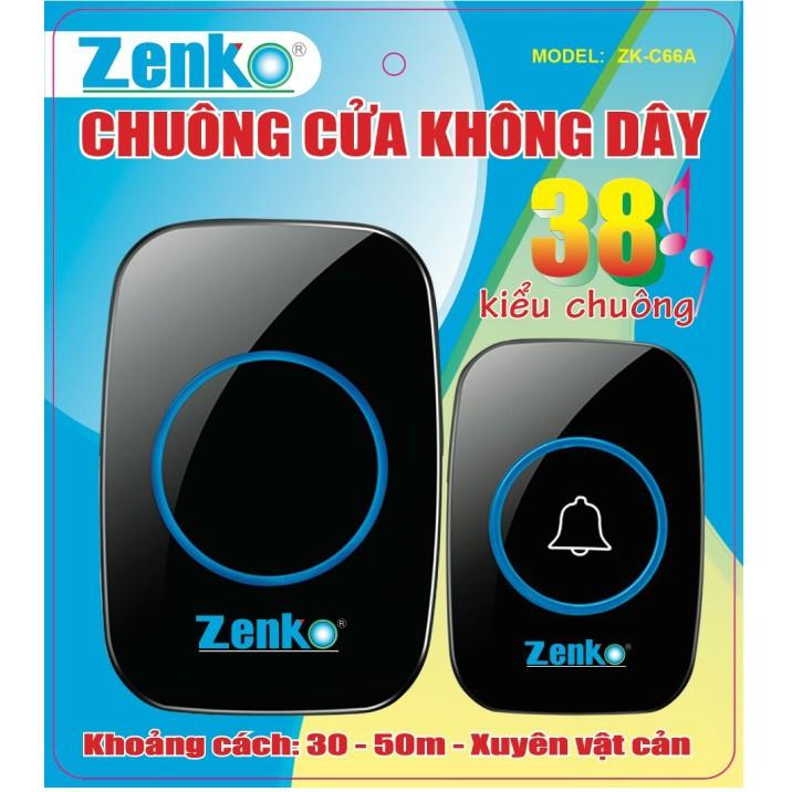 Chuông cửa không dây Zenko ZK-C66A